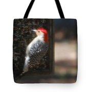 Redbellied Woodpecker Tote Bag