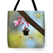 Redbud And The Bumble Tote Bag