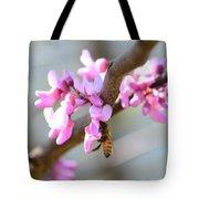 Redbud Pollinator Tote Bag
