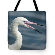 Reddish Egret Egretta Rufescens Portrait Tote Bag