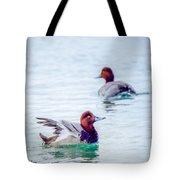 Redhead Ducks Tote Bag