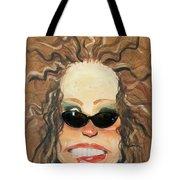 Ginger In Sunglasses Tote Bag