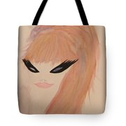 Redhead Woman Tote Bag