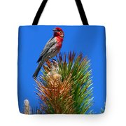 Redheaded Tree Topper Tote Bag