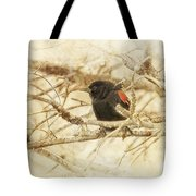 Redwing In The Wind Tote Bag