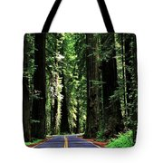 Redwood Highway Tote Bag