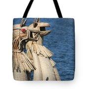 Reed Boat Lake Titicaca Tote Bag