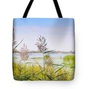 Reed Flowers Tote Bag