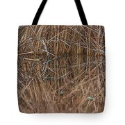 Reed Water Reflection Tote Bag