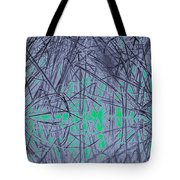 Reed Water Reflection Light Fantasy Tote Bag
