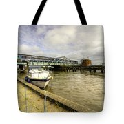 Reedham Swing Bridge  Tote Bag
