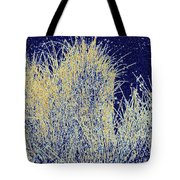Reeds Along The Shore Tote Bag