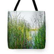 Reeds And River Tote Bag