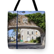Referendum Gate In Gibraltar Tote Bag