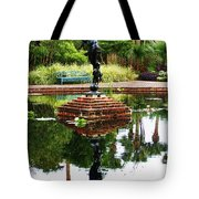 Reflected Archer  Tote Bag