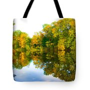 Reflected Autumn Glory Tote Bag