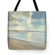 Reflected Clouds Oxwich Beach Tote Bag