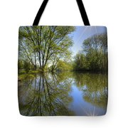 Reflected Star Tote Bag