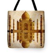 Reflected Taj Mahal Tote Bag