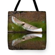 Reflecting Canoe Tote Bag