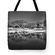 Reflecting Lighthouse  Tote Bag