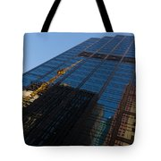 Reflecting On Skyscrapers - Downtown Atmosphere Tote Bag