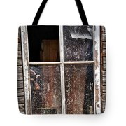 Reflecting On The Inside And Outside Tote Bag
