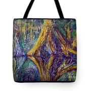 Reflecting On The St. Johns River Tote Bag