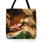 Reflecting On The Surface 1 Tote Bag