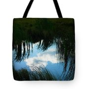 Reflecting The Grass Tote Bag