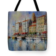 Reflection  -  St.tropez - France Tote Bag