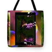 Reflection Above The Pond Tote Bag