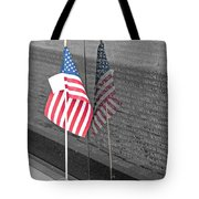 Reflection At The Wall I Tote Bag