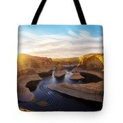 Reflection Canyon Tote Bag