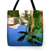Reflection Gabezo And Trees 29478 Tote Bag
