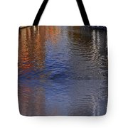 Reflection In Canal Tote Bag