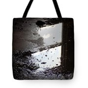 Reflection In Dirty Water Tote Bag