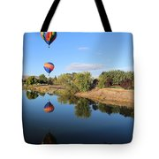 Reflection In Prosser Tote Bag