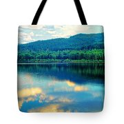 Reflection In The Water Tote Bag