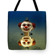 Reflection Of A Clown Tote Bag