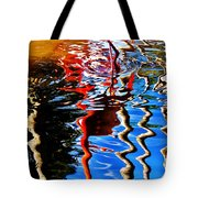 Reflection Of A Flamingo 1 Tote Bag