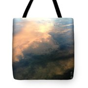 Reflection Of Clouds Tote Bag