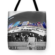 Reflection Of Colorful World Tote Bag