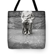 Reflection Of Fdr Tote Bag