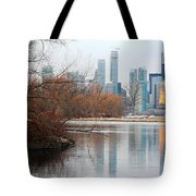 Reflection Of Love Tote Bag