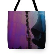 Reflection Of Seattle Space Needle Tote Bag