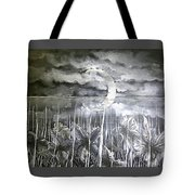 Reflection Of The Crescent Tote Bag