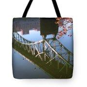 Reflection Of The Gay Street Bridge Tote Bag