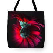 Reflection Of The Gerbera Tote Bag