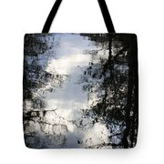 Reflection On Sweet Water Strand Tote Bag